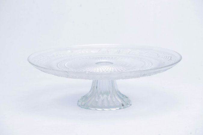 Prato para Bolo de Vidro 29cm