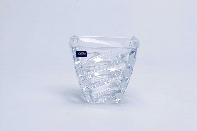 Vaso de Cristal Facet Pequeno