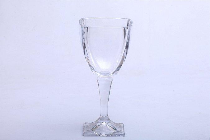 Conjunto de Taças para Vinho de Cristal de Chumbo Arezzo 6pçs