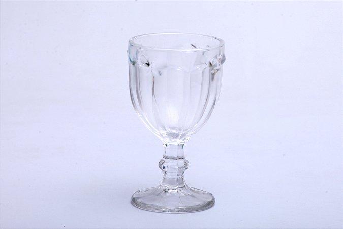 Conjunto de Taças de Água Transparente em Vidro Borboleta 6pçs