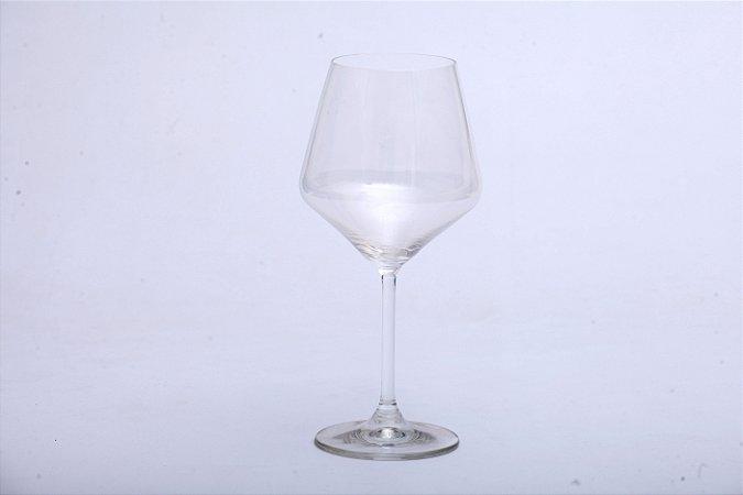 Conjunto de Taça de Cristal Burgundy 4pçs