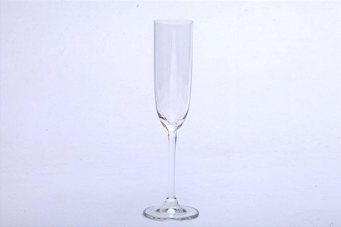 Conjunto de Taças de Cristal para Champagne 6pçs