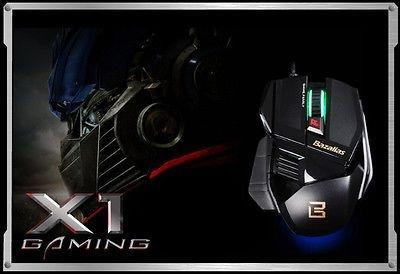 Mouse Bazalias X1 Pro Gaming 2000Dpi
