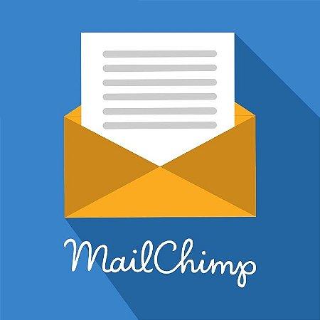 Campo Newsletter integrado com Mailchimp