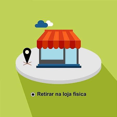 Opção de frete gratuito para retirada na loja física