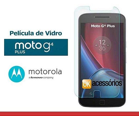 Película de Vidro para Moto G4 Plus.