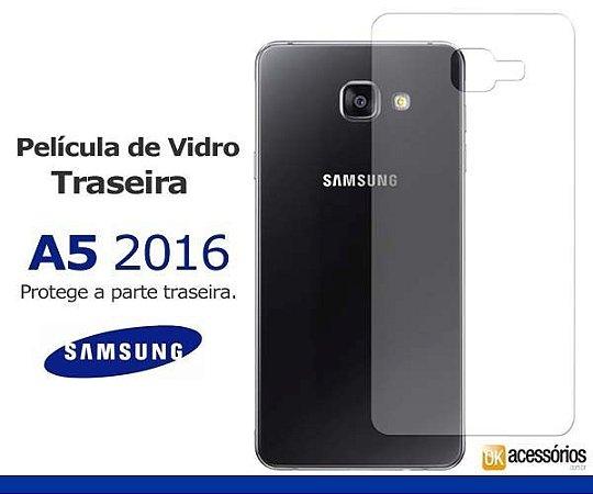 Película de Vidro Traseira para Galaxy A5 2016