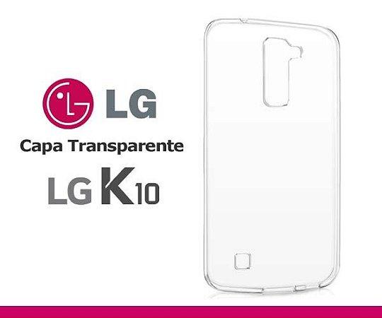 Capa de Silicone Transparente para LG K10