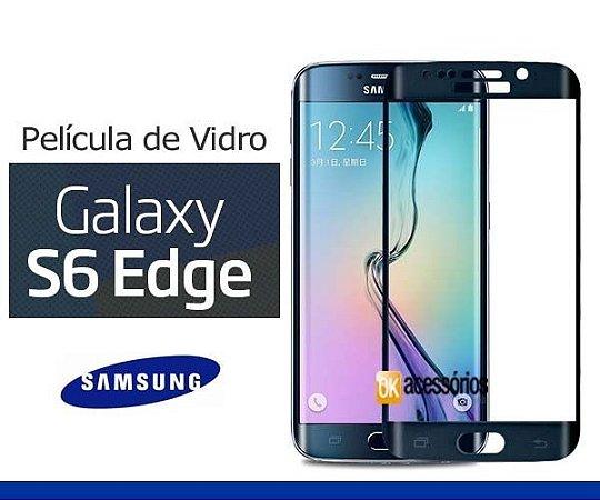 Película de Vidro curva para Galaxy S6 Edge