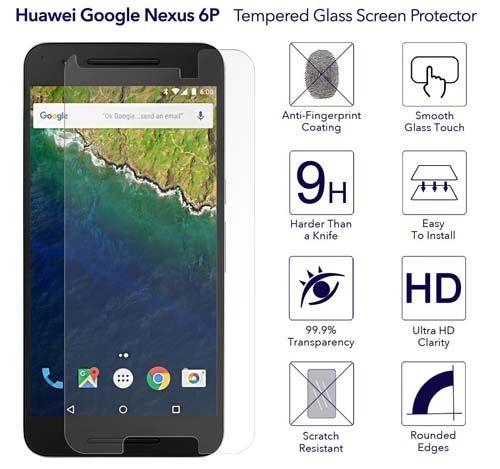Película de Vidro Nexus 6P