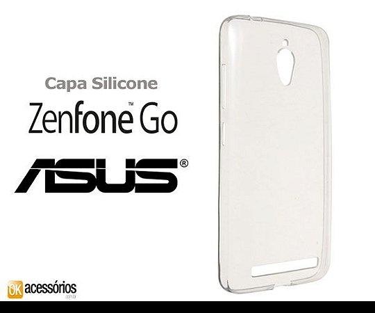 Capa de Silicone Transparente para Zenfone GO 5