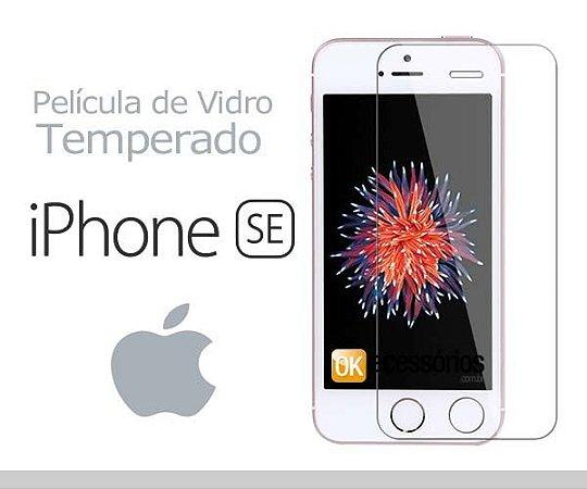Película de Vidro para iPhone SE