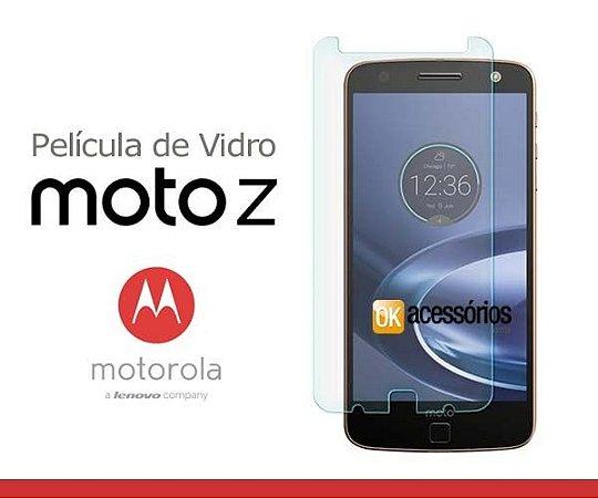 Película de Vidro para Moto Z.