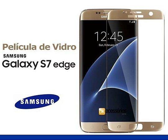 Película de Vidro para Galaxy S7 Edge Curva