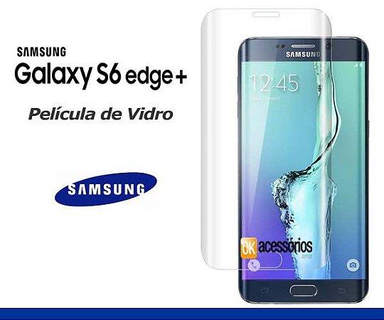 Película de Vidro para Galaxy S6 Edge Plus. Cobre toda lente.