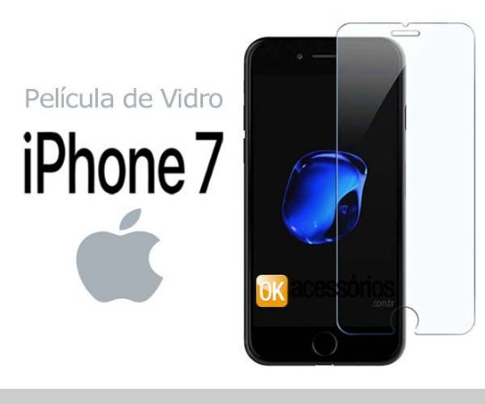 Película de Vidro para iPhone 7