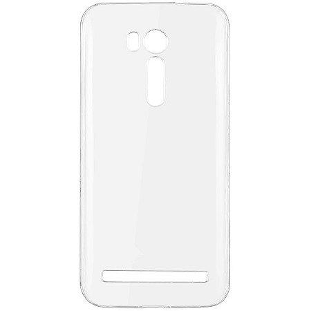 Capa de Silicone Transparente para Zenfone GO Live DTV