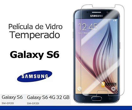 Película de Vidro para Galaxy S6.
