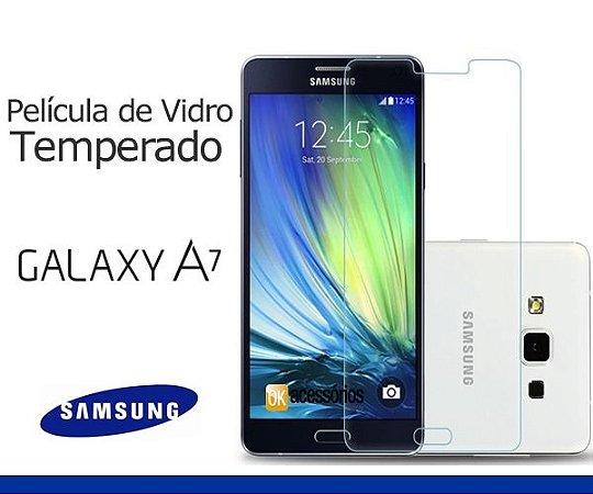 Película de Vidro  para Samsung Galaxy A7 Duos.