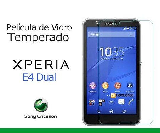 Película de Vidro para Sony Xperia E4 Dual.