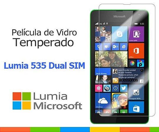 Película de Vidro para Microsoft Lumia 535 Dual SIM