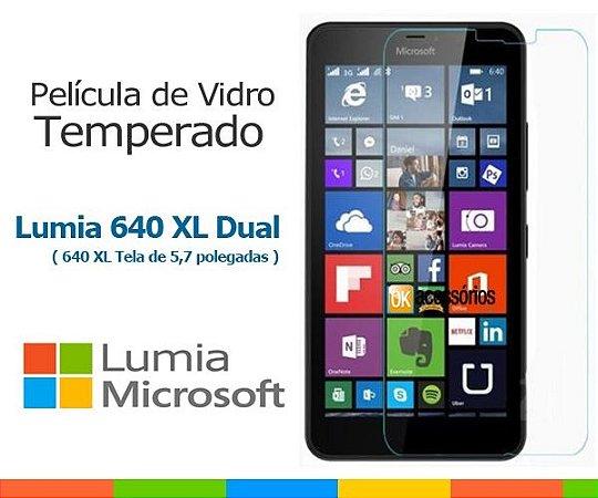 Película de Vidro para Microsoft Lumia 640 XL