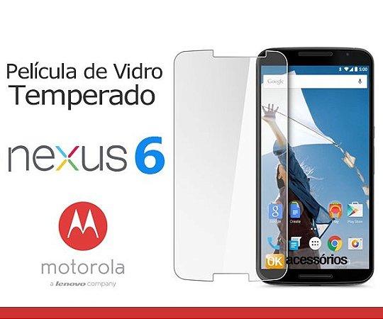 Película de Vidro para Motorola Nexus 6