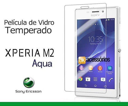 Película de Vidro para Xperia M2 Aqua.