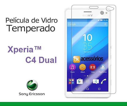 Película de Vidro para Sony Xperia C4 Dual.