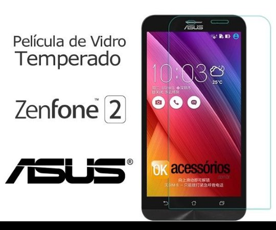 Película de Vidro para Asus Zenfone 2.