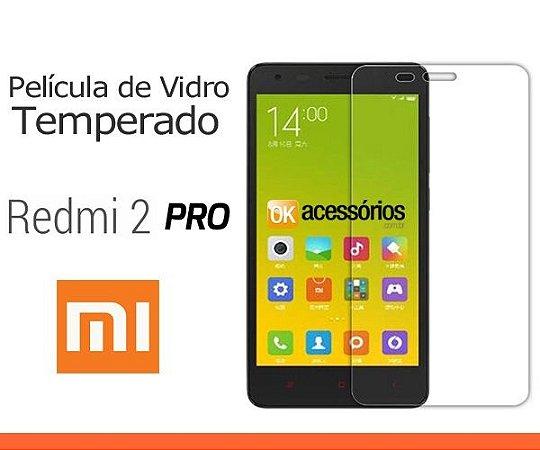 Película de Vidro para Xiaomi Redmi 2 PRO.
