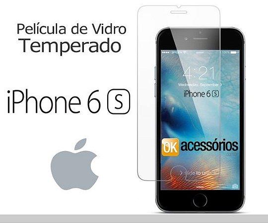 Película de Vidro para iPhone 6S.