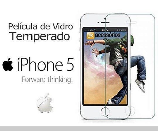 Película de Vidro para iPhone 5.