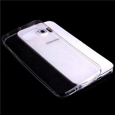 Capa de Silicone Transparente para Galaxy S6 Edge