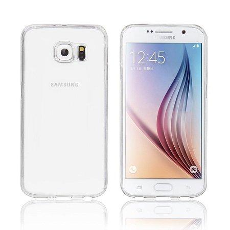 Capa de Silicone Transparente para Galaxy S6