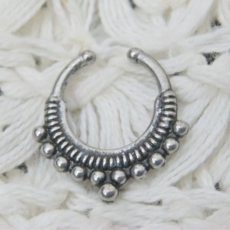 Piercing indiano fake - REF F008