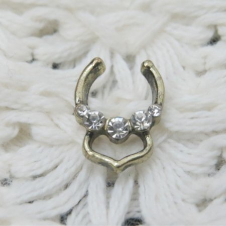 Piercing indiano fake - REF F016