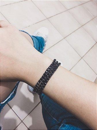 _Conjunto de pulseiras star, 3 peças, black - REF P454