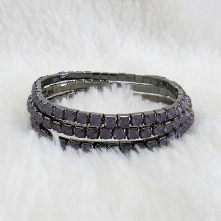 Conjunto de pulseiras star, 3 peças, lilás - REF P212