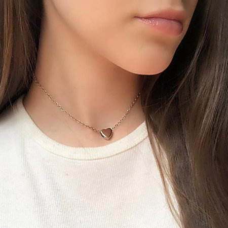 Choker doha, little love, prateada - REF C005