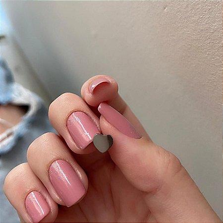 Piercing de furo, pino, love, prateado - REF X046