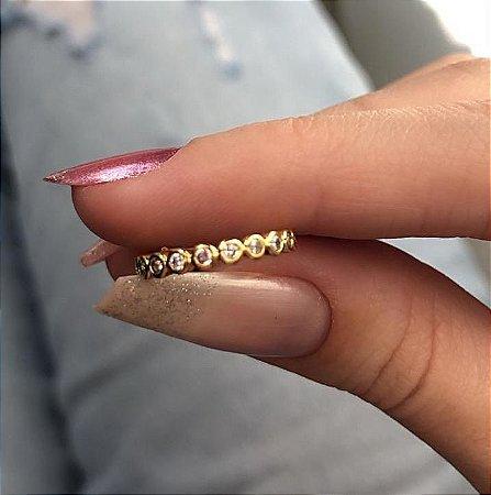 Piercing de furo, argolinha, conch, glória, 1,5 cm,  dourado - REF X150
