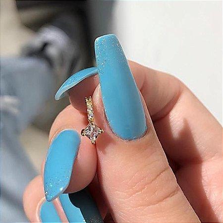 Piercing de furo, argolinha, arlete, dourado - REF X170