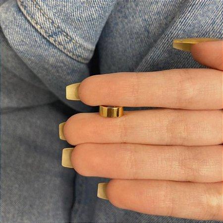 Piercing fake, rock, dourado - REF X269