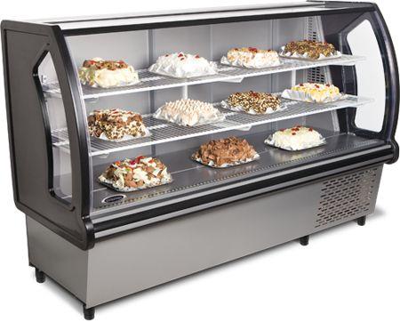 Vitrine Refrigerada para Doces VTRD-180 - conservex