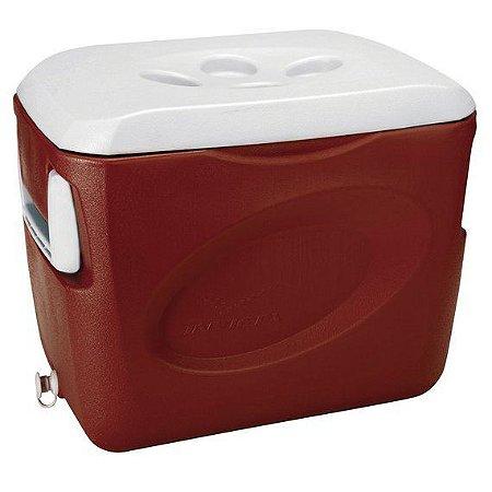 Caixa Térmica 24,0L Vermelho Velvet