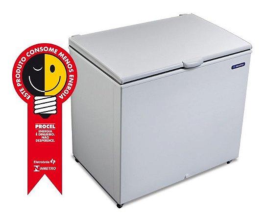 Freezer Horizontal T/ cega Dupla Ação 302Lts - Metalfrio