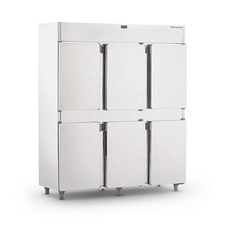 Geladeira Comercial 06 Portas Inox - Refrimate