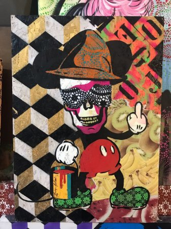 Mickey Skull (65x50)