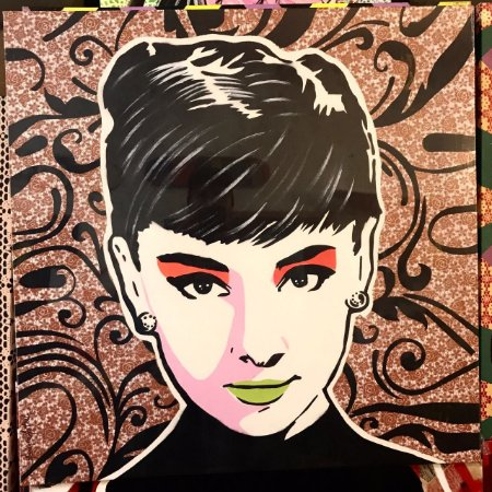 Audrey Hepburn  (70x70)